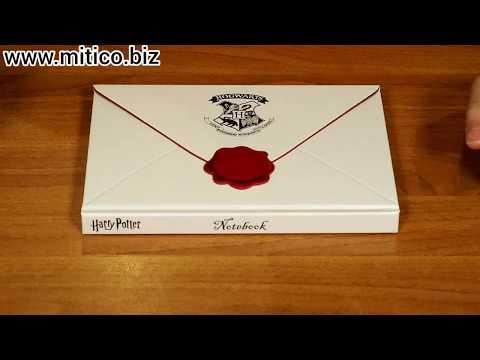 Notebook Lettera Hogwarts Harry Potter