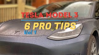 Tesla Model 3 - PRO TIPS