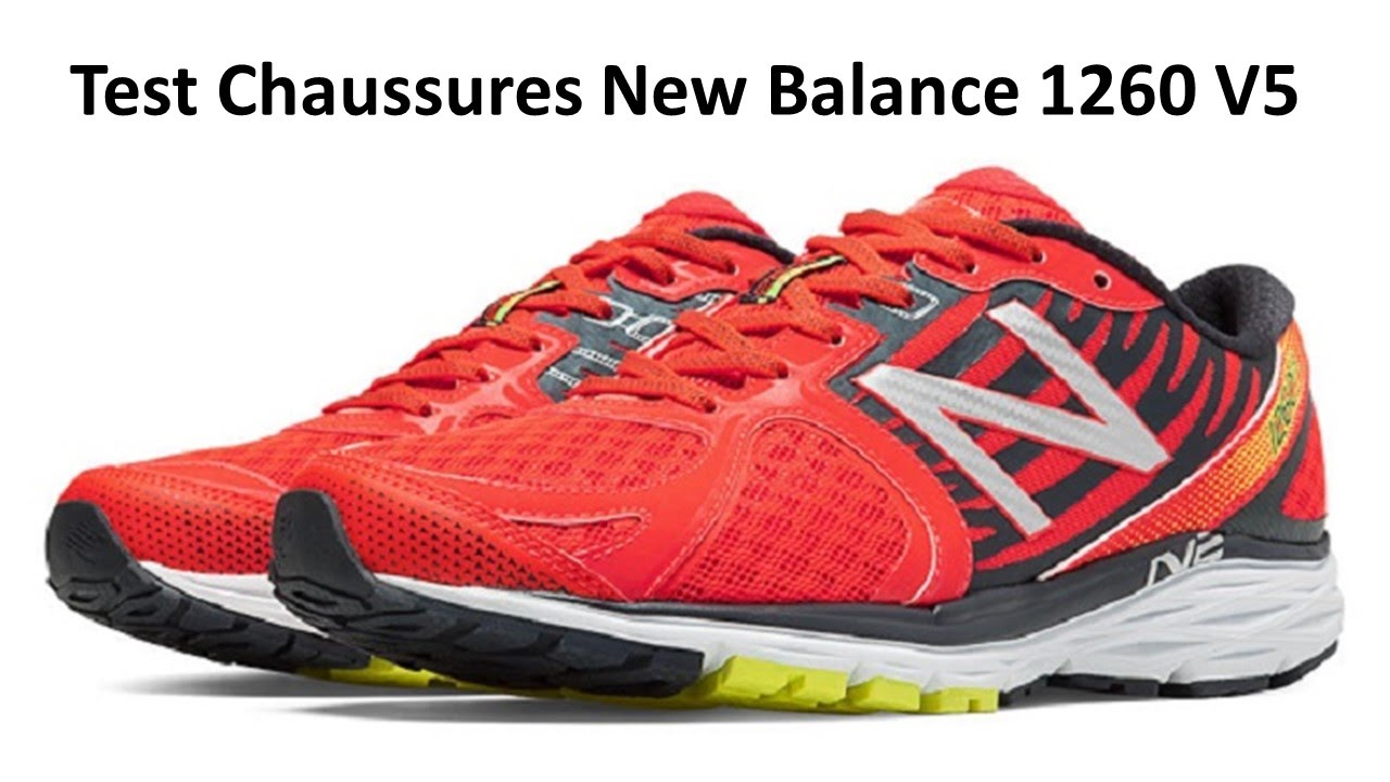 Test chaussures running New Balance 1260 V5 | Testeur Outdoor