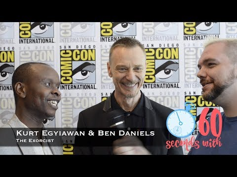 60 Seconds with Kurt Egyiawan & Ben Daniels