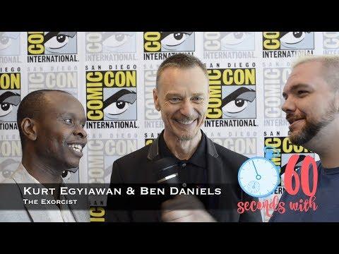 60 Seconds with Kurt Egyiawan & Ben Daniels