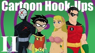 Cartoon Hook-Ups: Robin and Kitten 2