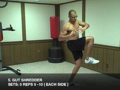 Men\' s Fitness MMA Abs Workout