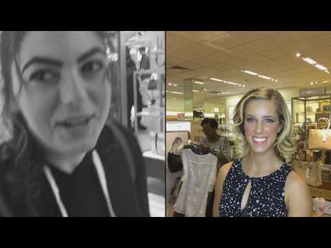 2017 Michael Kors Fashion show at Dillards Northlake mall Charlotte North Carolina