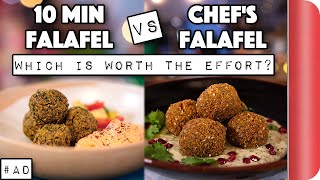10 Min Falafel vs Chef's Falafel - Which is worth the effort?