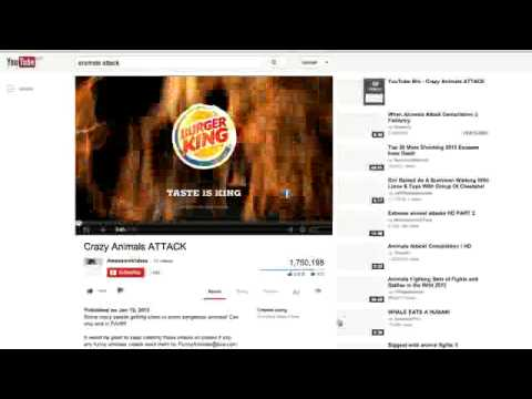 Burger king tube search videos