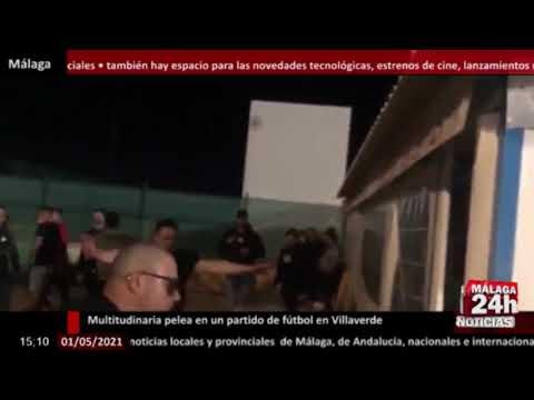 🔴Noticia - Multitudinaria pelea en un partido de fútbol en Villaverde con más de diez heridos
