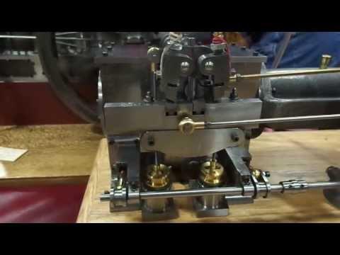 Greene's Patent Cutoff Steam Engine