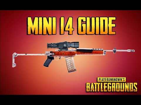 PLAYERUNKNOWN'S BATTLEGROUNDS MINI 14 GUIDE! Training Grounds Episode 8!