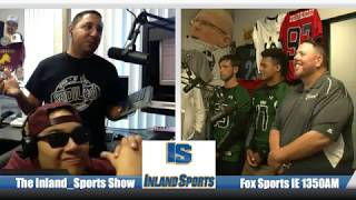 LIVE! The Inland_Sports Show on Fox Sports IE 1350AM (9-16-17)