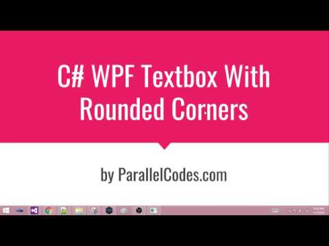 WPF Textbox rounded corners