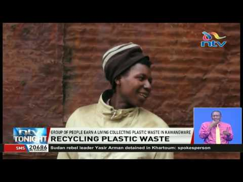 Recycling plastic waste in Nairobi