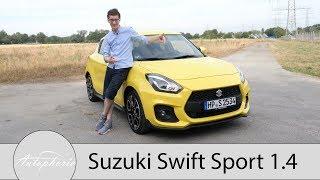 2018 Suzuki Swift Sport 1.4 Boosterjet Fahrbericht / Versüßt dir den Alltag - Autophorie