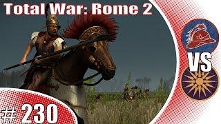 Total War: Rome 2 Online Battle (Deutsch|German) Baktrien gegen Makedonien # 230