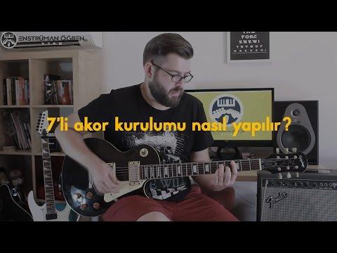 Armoni Dersi: 7'li Akor Kurulumu Nasıl Yapılır?