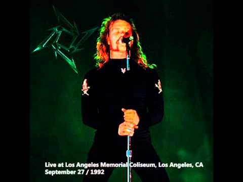 Metallica Fade to Black Los Angeles 1992 - YouTube