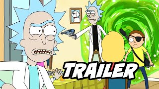 Rick And Morty Season 4 Teaser Trailer   Top 5 Evil Morty Theory Breakdown