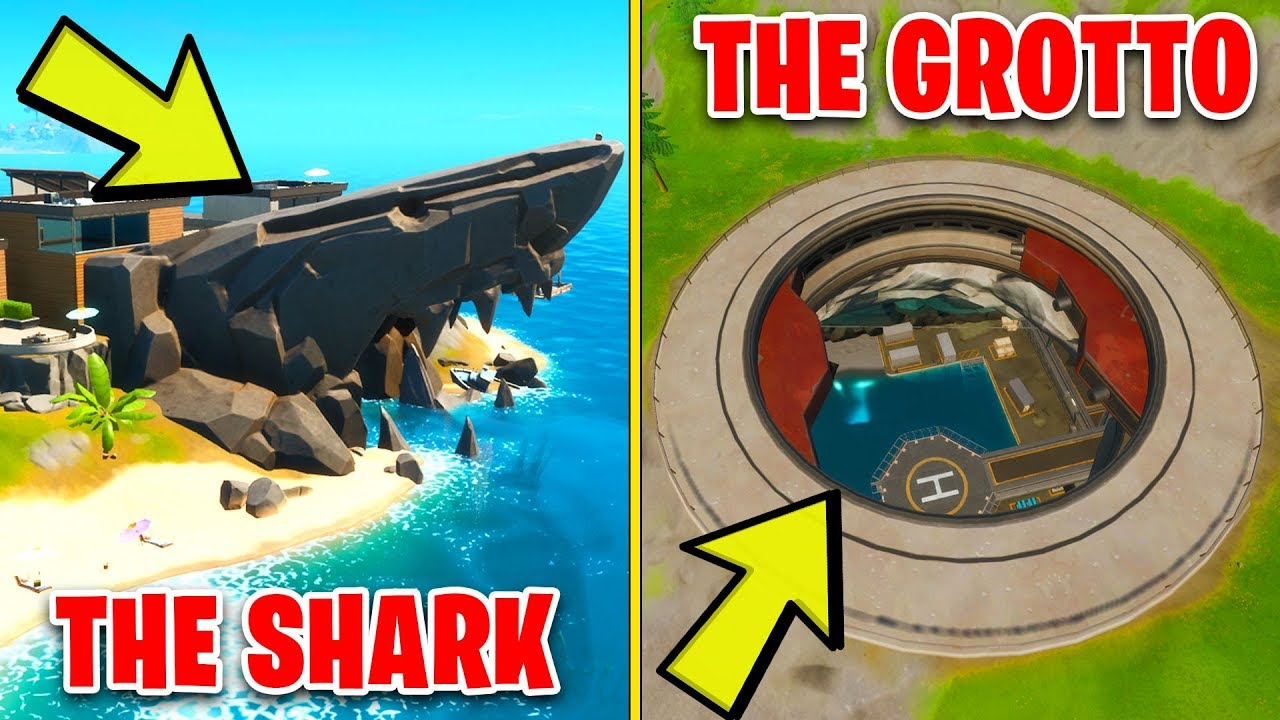 Search Chests at The Grotto or The Shark - Location Guide ...