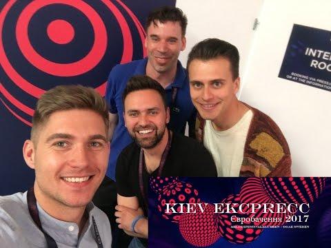 Kiev Express - 8 maj - Programledarna, presskonferenser, fan-zone och scenen - Eurovision 2017