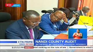 Nandi Governor Stephen Sang grilled on financial status on the county