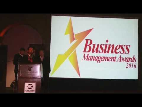 Premio BUSINESS MANAGEMENT AWARDS 2016 Academia de Coaching y Capacitación Americana