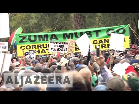 Protests against President Zuma planned in South Africa