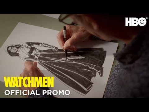 Watchmen: Dave Gibbons Illustration (Promo) | HBO