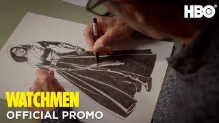 Watchmen: Dave Gibbons Illustration (Promo)   HBO