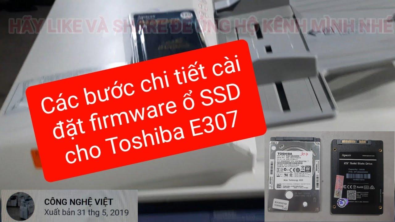 Toshiba Firmware Ssd