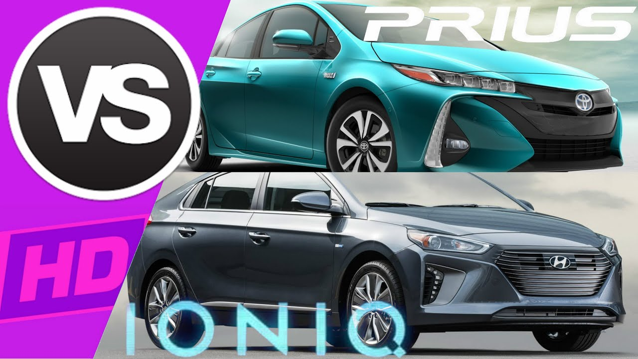 toyota prius prime vs hyundai ioniq youtube. Black Bedroom Furniture Sets. Home Design Ideas