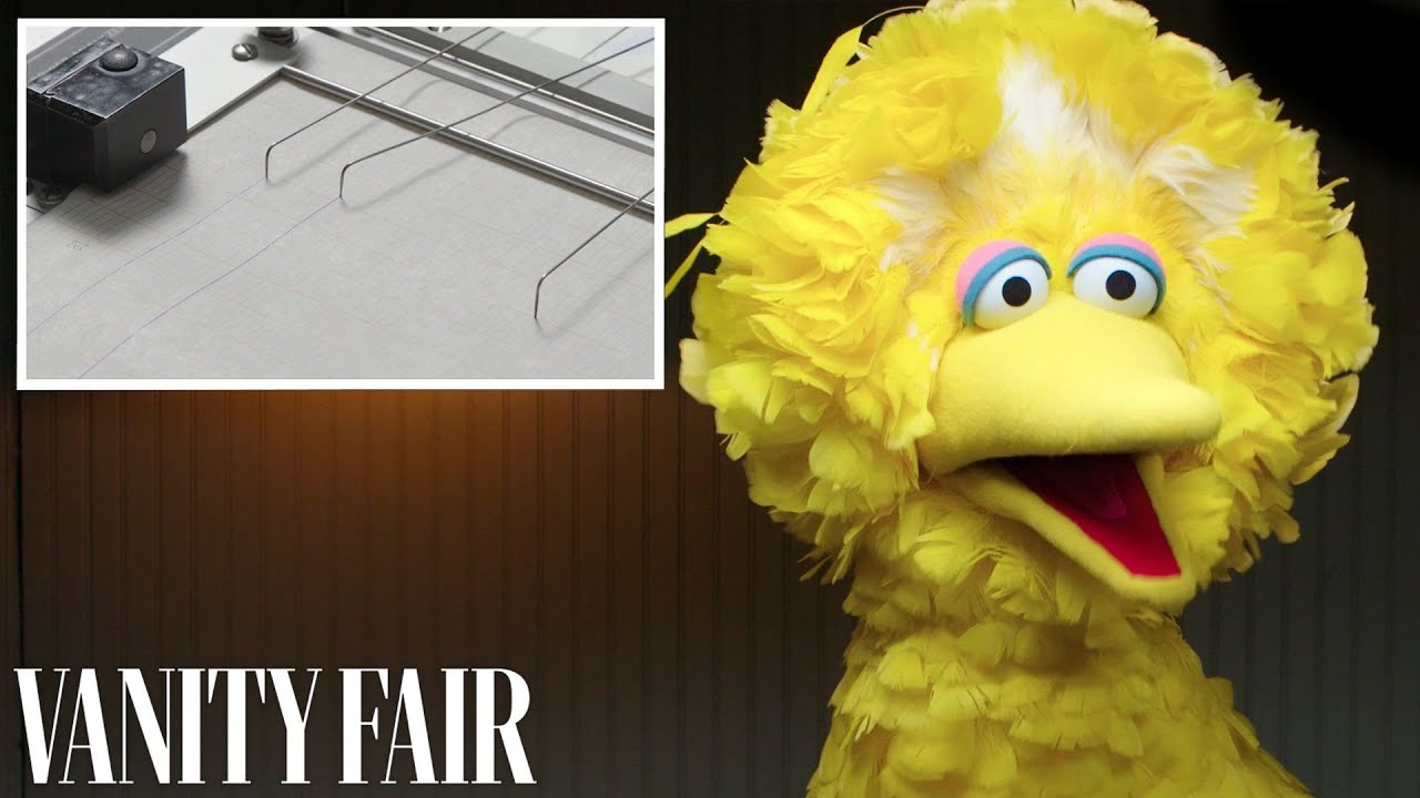 Big Bird Takes a Lie Detector Test