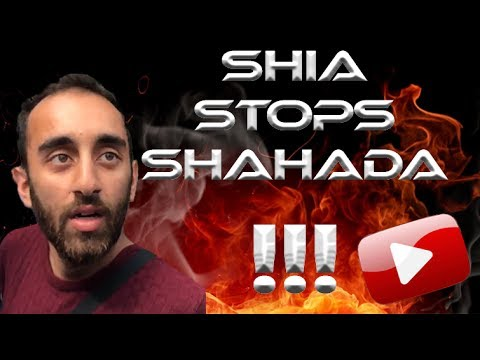 🔥 Shia Stops Girlfriend Take Shahada !! 🔥