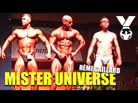 MISTER UNIVERSE (REMI GAILLARD) from YouTube · Duration:  1 minutes 57 seconds