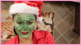 JWOWW's Grinch Makeup Tutorial!