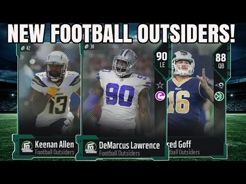 NEW FOOTBALL OUTSIDERS! 90 OVERALL LAWRENCE, 91 TAYLOR, AND MORE! | MADDEN 18 FOOTBALL OUTSIDERS
