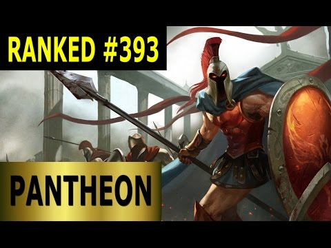 Pantheon Top – Full League of Legends Gameplay [German] Let's Play LoL – Ranked #393
