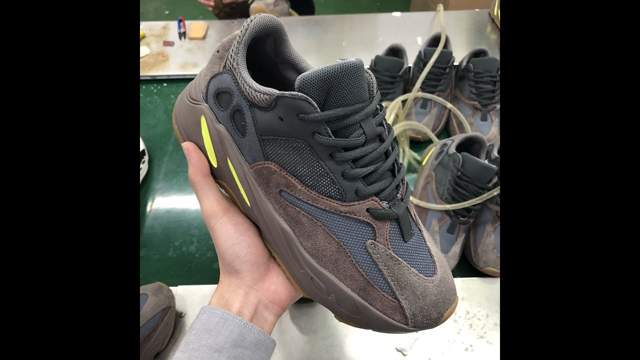 22378bcfd48c6 First Look at Yeezy Boost 700 Mauve - YouTube
