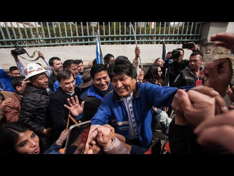Bolivia's President Evo Morales Seeks An Unprecedented Fourth Term