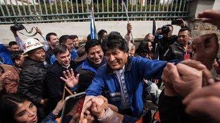 Bolivia's President Evo Morales Seeks An Unprecedented Fourth Term
