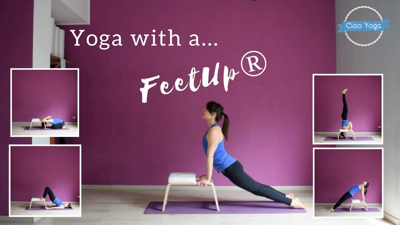 Yoga con il feetup youtube
