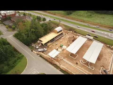Grand Slam Car Wash   Peachtree Parkway   Cumming, GA - DJI Phantom 3 Advanced