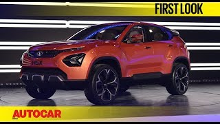 Tata H5X Interiors | Auto Expo 2018 | Autocar India
