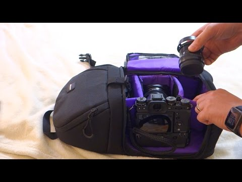 Neewer Sling Bag Review Aka Altura Sling Bag (Holds XT2 With Booster And Two Extra Lenses)