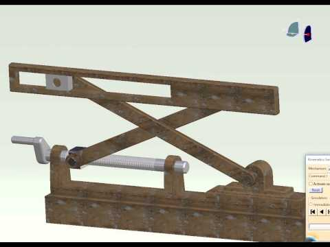 Wood Scissor Lifting Table Doovi