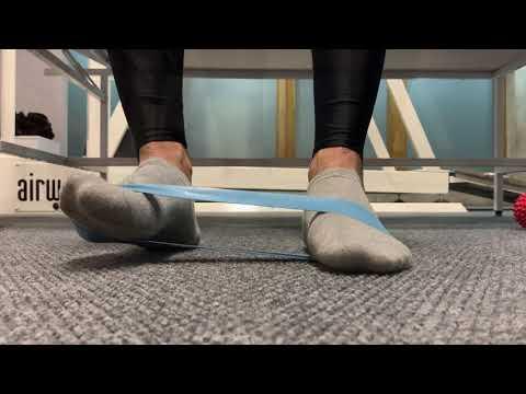 Комплекс упражнений для укрепления стопы