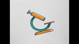 Microscope Vector Icon Adobe Illustrator Tutorial
