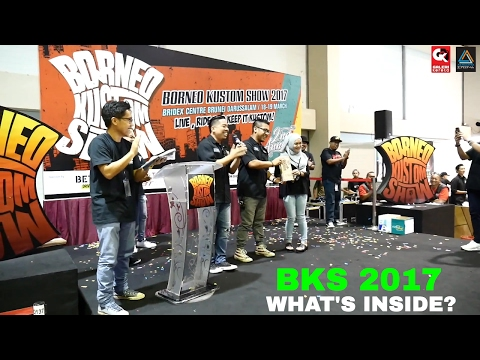 Borneo Kustom Show 2017 - What's Inside?