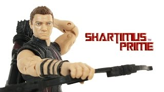 Marvel Legends Hawkeye Avengers Age of Ultron Amazon 4 Pack Movie Toy Action Figure Review