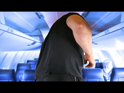 I COULDN'T FIT ON THE AIRPLANE | 6'8' 450LBS