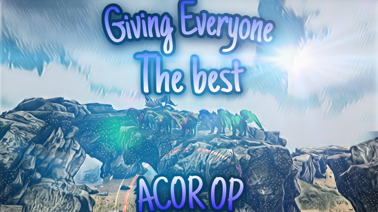 Ark official pvp PS4🎮|Giving everyone the best💎🔥|Highlights#3|#ACOR